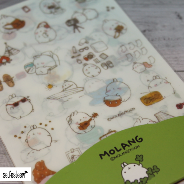 Molang Sticker Set