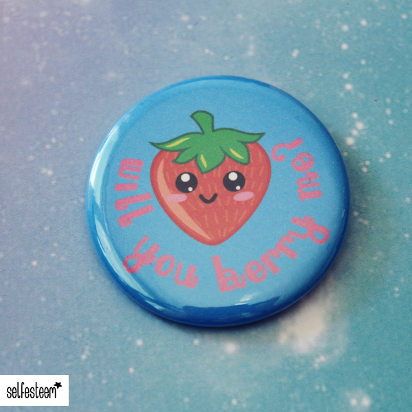 Button Will You Berry Me