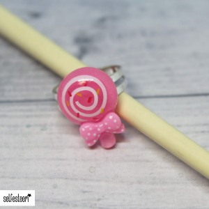 Ring Lolly mit Spirale
